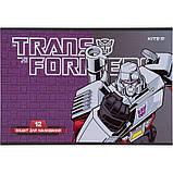 Тетрадь для рисования Kite Transformers TF21-241, 12 листов, фото 3