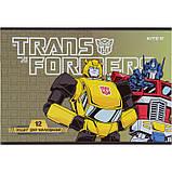 Тетрадь для рисования Kite Transformers TF21-241, 12 листов, фото 4