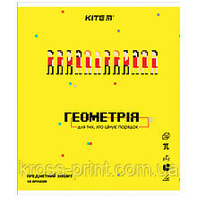 Предметная тетрадь Kite Pixel K21-240-11, 48 листов, клетка, геометрия