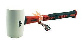Молоток гумовий білий Stark Ø55мм х 450г фібергласова ручка (Німеччина)