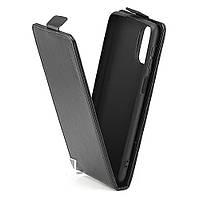 Чохол Idewei для Samsung Galaxy A02s / A025 фліп вертикальний шкіра PU Чорний