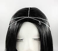 Східна ланцюжок Тика на голову Зірки (срібло) №72, фото 1