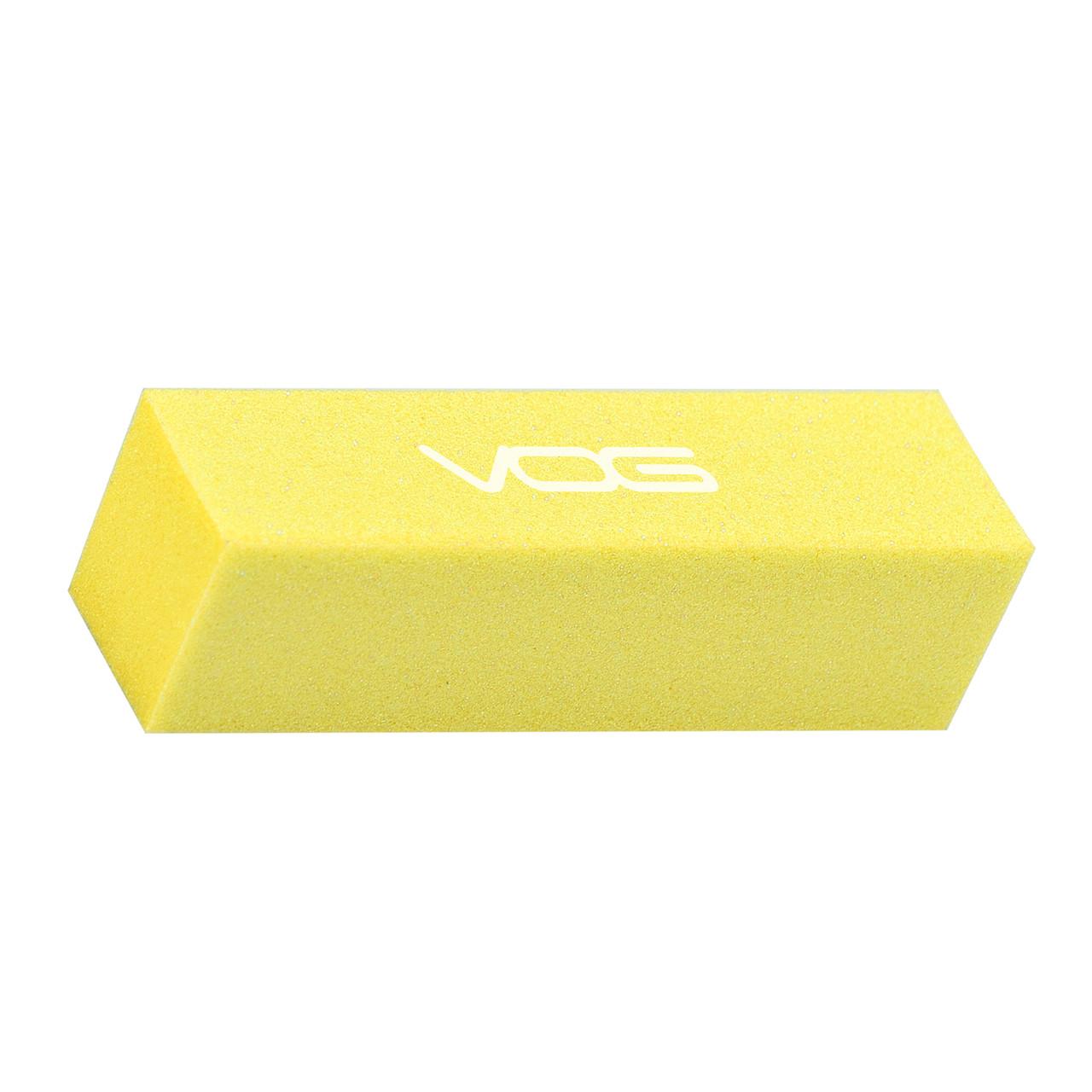 Баф для шліфування нігтів абразивність 200/240 Жовтий VOG США