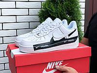 Чоловічі кроссовки Nike Air Force Fragil white, фото 1