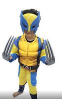 Детский карнавальный костюм Росомаха Rosomaha с мышцами для мальчика р. 120 - 140