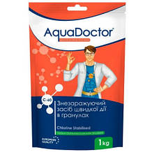 Шок Хлор AquaDoctor C-60 1 кг. в гранулах