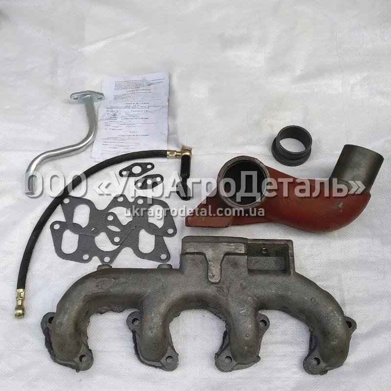 Деталі для встановлення турбонаддува на ЮМЗ Д-65 (без турбіни)