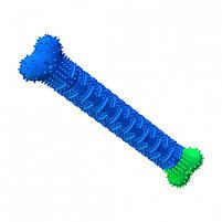 Силиконовая игрушка самоочищающаяся зубная щетка косточка Chewbrush для чистки зубов собак, фото 3