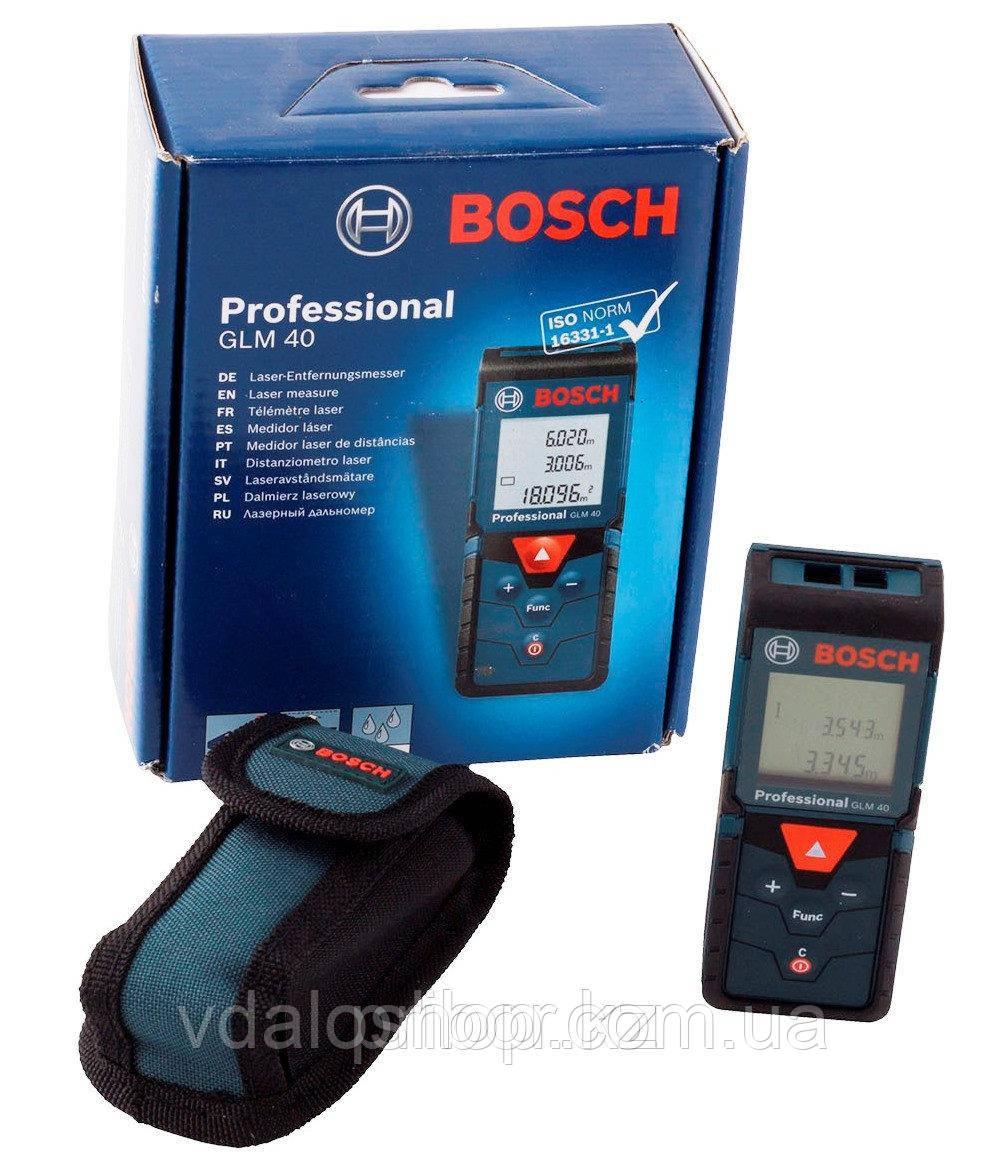 Лазерный дальномер Bosch GLM 40 Professional 0601072900