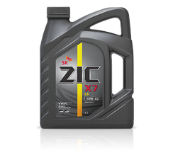 Моторне масло ZIC X7 LS 10W-40 4л