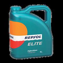 Моторное масло REPSOL ELITE INJECTION 10W40 4л