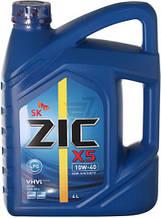 Моторне масло ZIC LPG 10W-40 4л ( Для двигунів на газі)