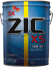 Моторное масло ZIC X5 10W-40 20л