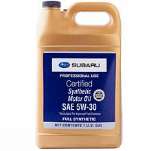 Моторное масло Subaru Synthetic Motor Oil 5W-30 3.785л (SOA427V1415)