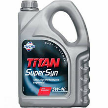 Моторное масло Fuchs Oil Titan Supersyn 5W-40 5л (600930844)