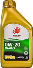 Моторное масло Idemitsu Gasoline 0W-20 SN/GF-5 1л (30011325-724000020)