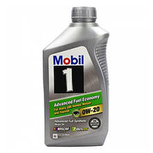 Моторное масло Mobil 1 Fully Synthetic 0W-20  0.946л (112600)