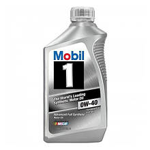 Моторне масло Mobil 1 Fully Synthetic 0W-40 0.946 л (112628)