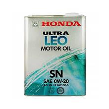Моторное масло Honda Ultra LEO 0W-20  4л (0821799974)