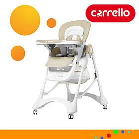 Детский стульчик для кормления CARRELLO Caramel CRL-9501/3 Бежевый (CRL-9501/3 Cream Beige)