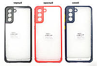 Чехол прозрачный Miqilin case для Samsung Galaxy S21+ 5G G996B