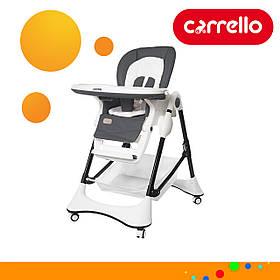 Детский стульчик для кормления CARRELLO Stella CRL-9503 Palette Grey Темно-серый