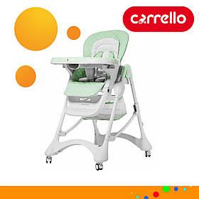 Детский стульчик для кормления CARRELLO Caramel CRL-9501/3 Pale Green Мятный