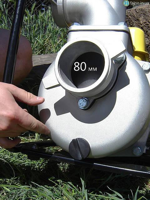 крыльчатка мотопомпы садко WP-80