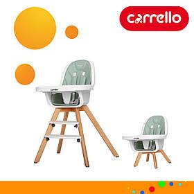 Детский деревянный стульчик для кормления CARRELLO Prego CRL-9504/1 Ash Green Зеленый