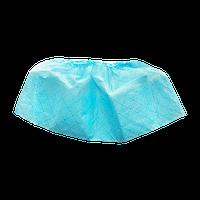 Бахіли з подвійною підошвою блакитні
