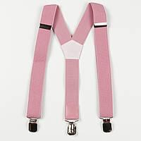 Підтяжки підліткові середні Y30 Top Gal рожеві однотонні кольори в асортименті, фото 1
