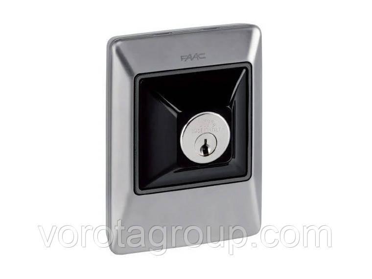 Ключ-выключатель XK10 B INOX (без цилиндра) FAAC