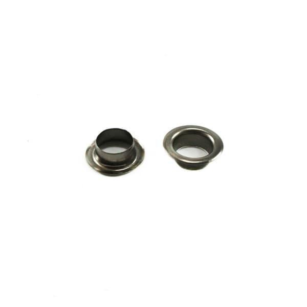 Блочка никель черный, 10 мм+кольцо