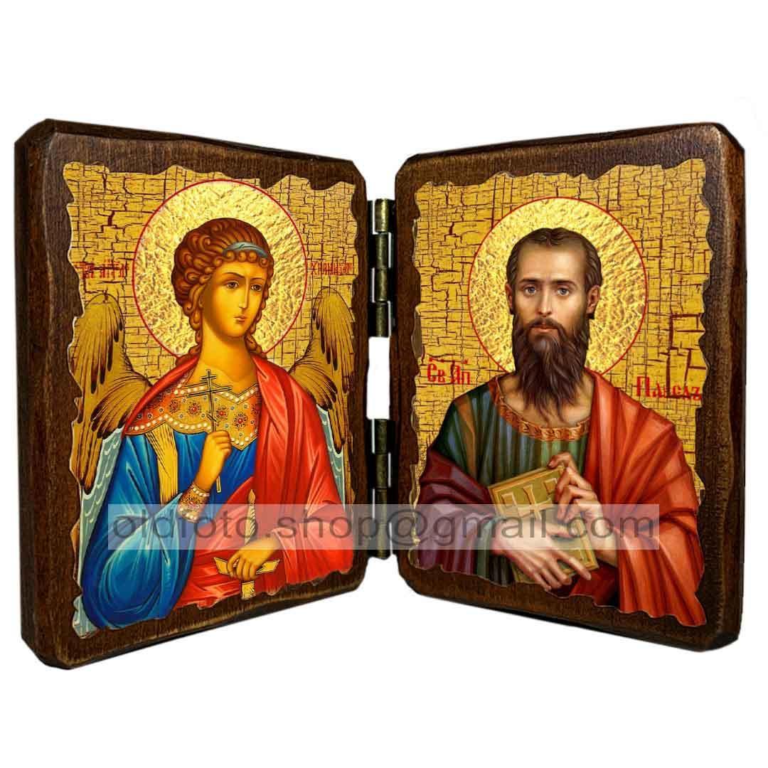 Ікона Святий Апостол Павло ,ікона на дереві 130х170 мм
