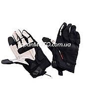 Рукавички Komine (size: XL, чорні, текстиль з накладкою на кисть, GK-183)