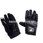 Рукавички Spurtt (size: XL, чорні, текстиль з накладкою на кисть, GK-183)