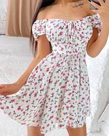 Жіноче плаття літнє ,літні сукні в квіточку новинка 2021, фото 1