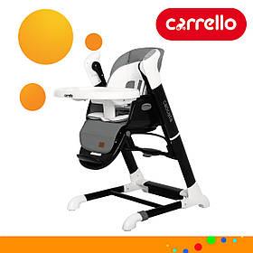 Детский стульчик для кормления CARRELLO Cascata CRL-10303/1 Palette Grey Серый | Стульчик-качеля, шезлонг