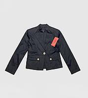 Котоновый пиджак для девочек. 146 рост.