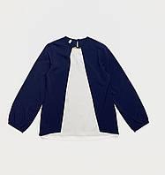 Блузка для девочек. (Софт). 122- 128 рост.