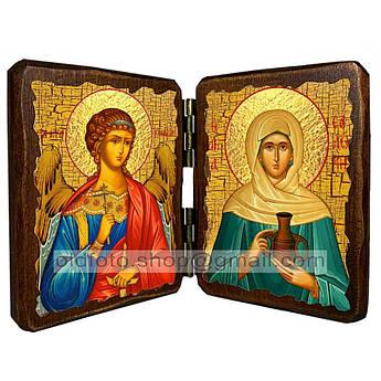 Икона Соломия Святая мироносица ,икона на дереве 140х100 мм