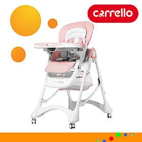 Детский стульчик для кормления CARRELLO Caramel CRL-9501/3 Розовый (CRL-9501/3 Candy Pink)