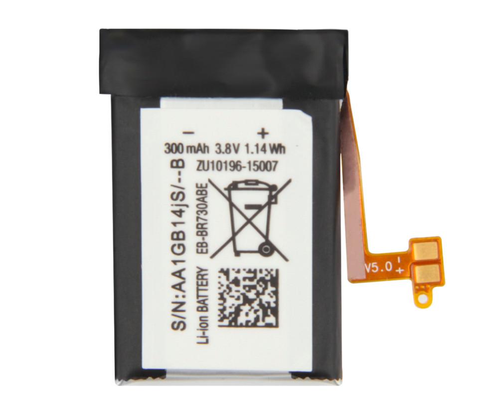 Акумулятор для смарт-годин Samsung EB-BR730ABE R600 Gear Sport   Gear S2 3G   R730   R735, 300mAh
