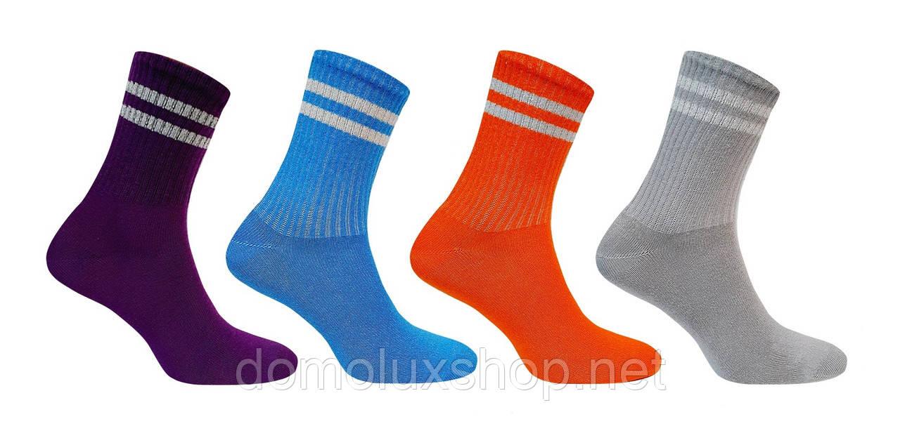 Super Socks Набір шкарпеток Смужки люрекс 4 пари р. 36-40 (S011)