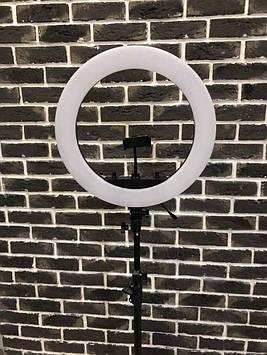 Кольцевая светодиодная  Лампа 45 см Led Soft Ring Light HQ-18