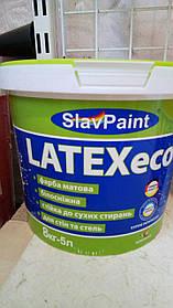 Водно-дисперсионная латексная краска К146 8кг 5л Интерьер эко LATEXeco