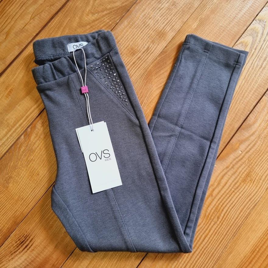 Штани на дівчинку, ріст 122, колір сірий