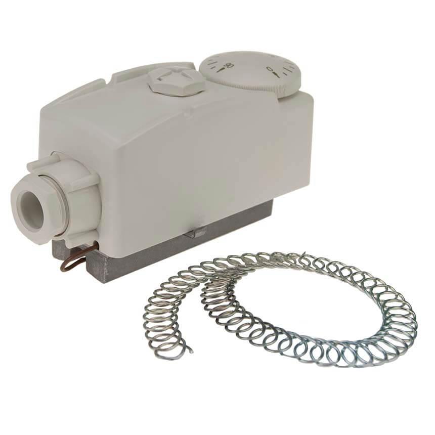 Термостат накладной с пружиной (0С-90С) KARRO (KR1089А)