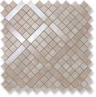 Плитка Мозаика Atlas Concorde Marvel Travertino Silver Diagonal Mosaic 9MVB