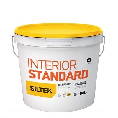 Фарба інтер'єрна SILTEK INTERIOR матова, 7 кг.